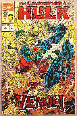 Incredible Hulk VS Venom #1 1994 Marvel Mail Away EXCELLENT HIGH GRADE FLAT COPY