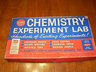 Gilbert Chemistry Experiment Lab #12006