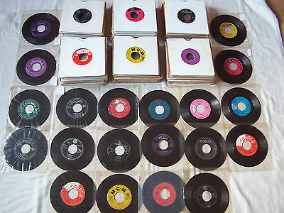 """JOBLOT OF 1950s/1960s 7"""" JUKEBOX SINGLES ** ALL DINKED x 170 APPROX ** LOT 2"""