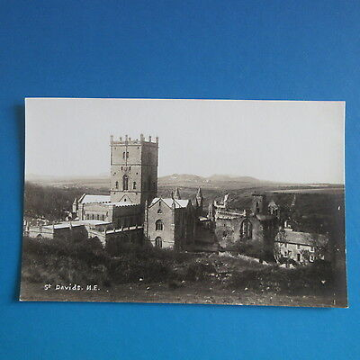 Old Postcard of St. Davids Cathedral, N. E.