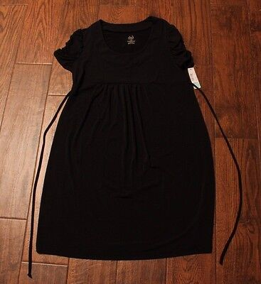 NWT! DUO MATERNITY Women's Solid Black Dress Size Small Retail $44