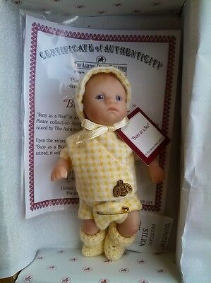 Aston Drake Doll Busy As A Bee 3 1/2 Inches