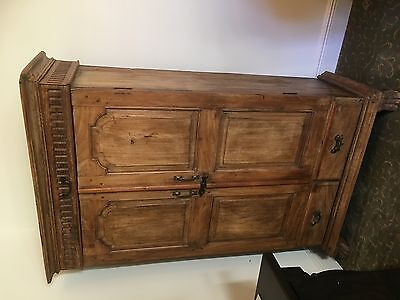 Antique wardrobe/entertainment armoire