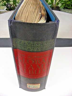 FRANCE & COLONIES, 100's of Stamps hinged on Minkus pages & Binder