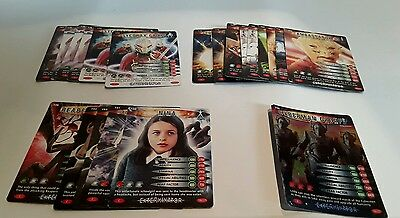 Dr Who Battles in Time Trading Cards (2006) 21 cards 152-196 inc 156