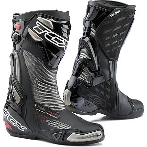 TCX RS2 RS 2 R-S2 EVO Race Sport Motorcycle Motorbike Boots Black NEW!