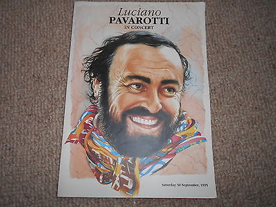 Luciano Pavarotti in Concert Programme 1995