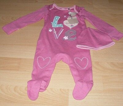 M&Co BABY GIRL BABYGROW AGE 0-3 MONTHS BNWT