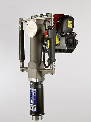 """REDI Driver Boss w 3 1/8"""" is the biggest & strongest gas powered post driver!"""