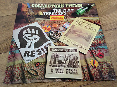 country joe and the fish the first three ep's UK Vinyl LP