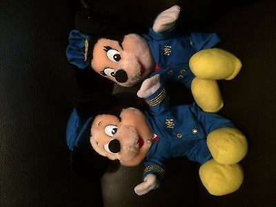 mickey and minnie mouse soft toys