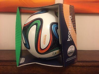 BNIB Authentic Adidas Brazuca Official World 2014 Cup Match Football Size 5