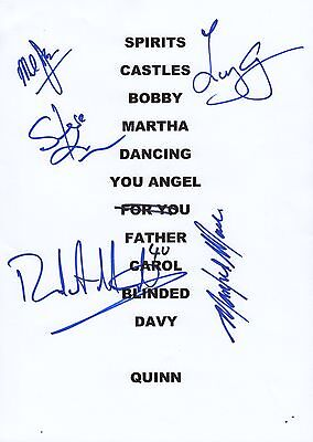 Manfred Mann's Earth Band - SIGNED Setlist 2012