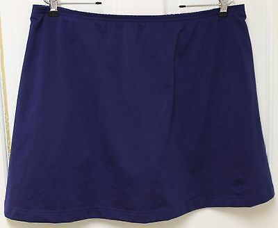 Adidas Woman's Navy Blue Tennis Skirt with Shorts Size XL