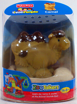 Fisher-Price Little People ZOO TALKERS CAMEL Interactive sounds NEW bactrian