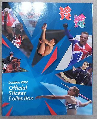 Panini London 2012 Official Olympics sticker album unused with poster + stickers