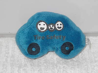 Bridgestone Plush Tire Safety Car 6 Inches Long By 4 Inches Tall