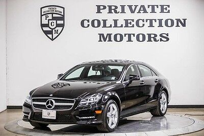 2014 Mercedes-Benz CLS-Class Base Sedan 4-Door 2014 Mercedes-Benz CLS550 1 Owner Clean Carfax Recently Serviced Highly Optioned