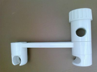 Shower hose holder adjustable bracket