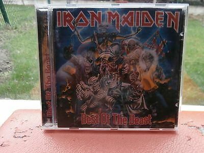 Cd Iron Maiden Best Of The Beast