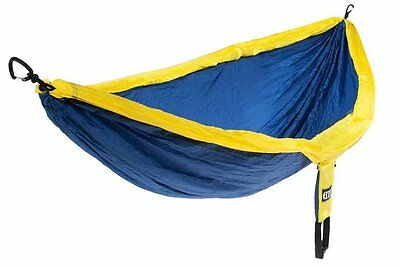 Eagles Nest Outfitters ENO DoubleNest Hammock Sapphire/Yellow