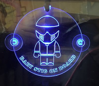 STiG Baby On Board LED Sign