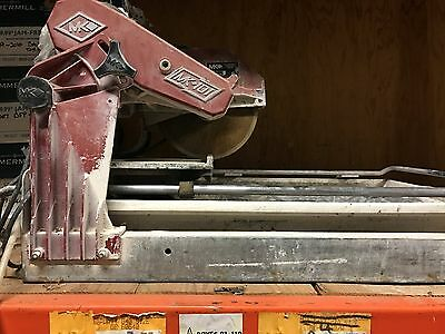 MK Diamond Tile saw-Local Pick up only