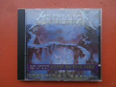Cd Metallica Jump In The Fire, Rare !!