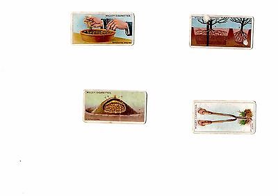 Will's Cigarette Cards - Spares - Gardening Hints No.s - 46 2 10 36
