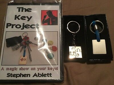 The Key Project - Magic DVD & Props - By Stephen Ablett