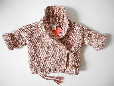 Misha & Puff new with tags NWT Shawl collar sweater top 3-6 months $160 baby