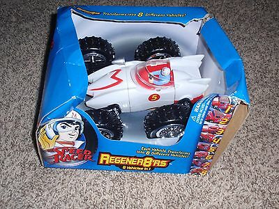 New Speed Racer Regener8'rs 8 Vehicles in 1 FREE USA SHIPPING