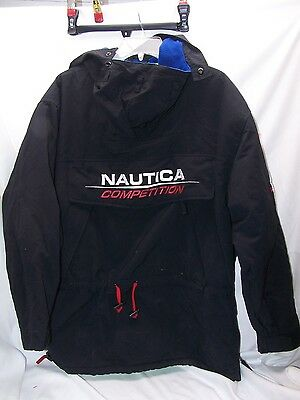 RARE Nautica Competition Pullover Jacket MEDIUM Coat Unique Only one on ebay