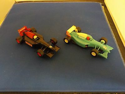 Two Vintage Scalextric / Hornby Cars. Navico + Simpson Collectable Toys