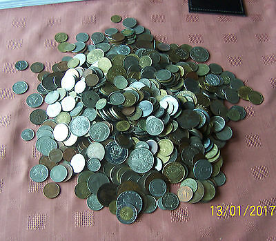 mix of world coins 4.25kg