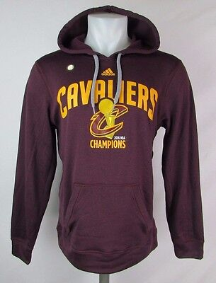 Cleveland Cavaliers Men's S, M Pullover 2016 Champions Hoodie NBA adidas A8TRM