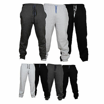 Mens Fleece Joggers Bottom Tracksuit Bottom Casual Exercise Fitness Sweat Cloth