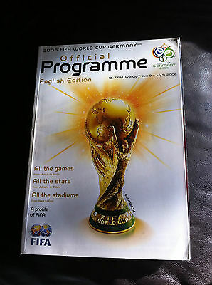 Fifa World Cup 2006 Finals - Official Tournament Programme - English Edition
