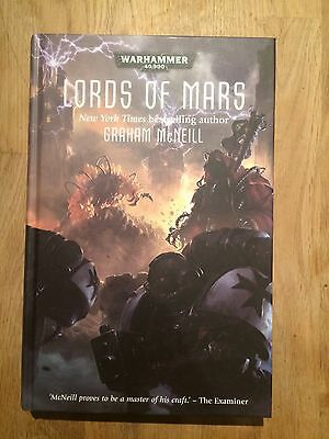 Black Library - Lords of Mars by Graham McNeill (hardback)