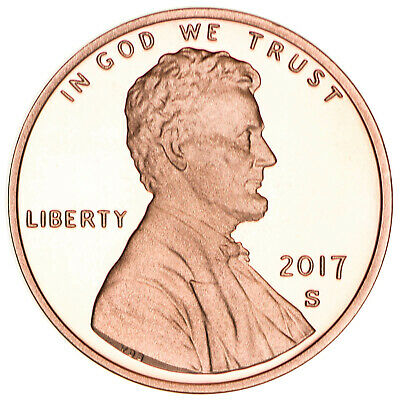 2017 S Lincoln Shield Cent Gem Deep Cameo Proof Penny
