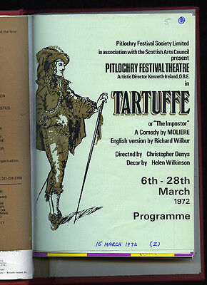 Pitlochry Festival Theatre : Bound Volumes Of Programmes 1963-1999