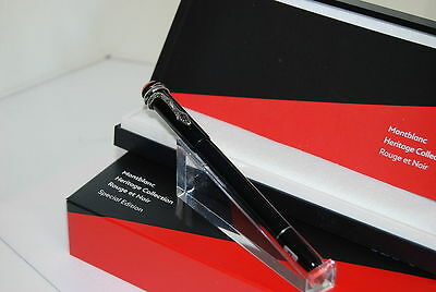 Montblanc Heritage Collection Rouge & Noir Special Edition Black Fountain Pen