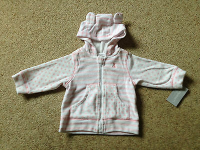 Baby Girls Soft Velour Jacket From Early Days  Age 6-9 Months  Bnwt