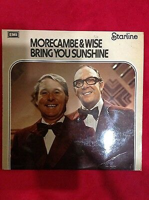 Morecambe and Wise Bring you sunshine vinyl lp record EMI classic comedy