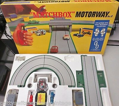Vintage 1967 LESNEY MATCHBOX SLOT CAR MOTORWAY #12 Track Controllers Accessories