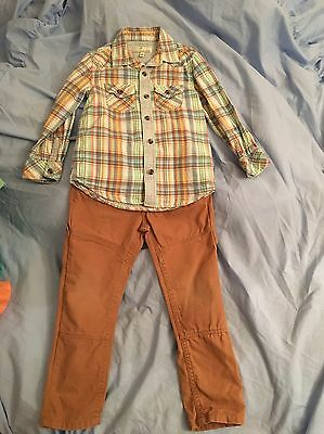 Boys Shirt & Trouser Outfit Age 3-4