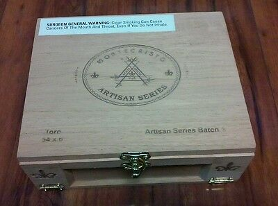 Lot 17 Of ONE MONTECRISTO ARTISAN SERIES LIMITED WOODEN CIGAR BOX
