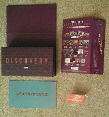 Pink Floyd - 'discovery' Box & Book *no Cds* - Brand New