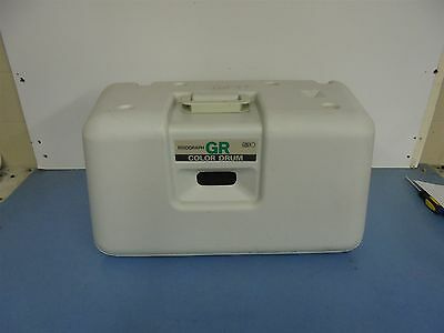 Risograph GR Color Drum Hunter Green OEM Cylinder with Case