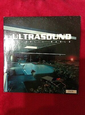 """Ultrasound Floodlit world limited edition numbered 7"""" single picture cover"""